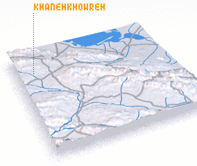 3d view of Khāneh Khowreh