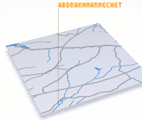 3d view of Abdrakhman-Mechet'