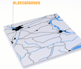 3d view of Aleksandrovo