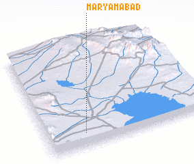 3d view of Maryamābād