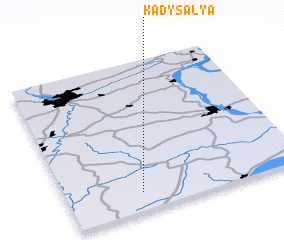 3d view of Kady-Sal\