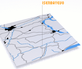 3d view of Isenbayevo