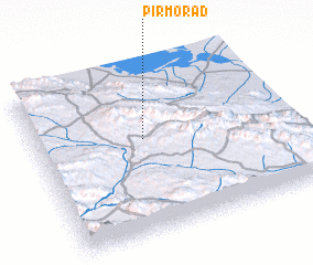 3d view of Pīr Morād