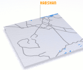 3d view of Ḩabshān