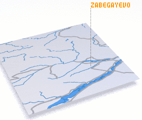 3d view of Zabegayevo