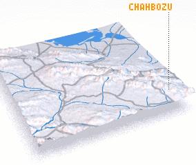 3d view of Chāh Bozū