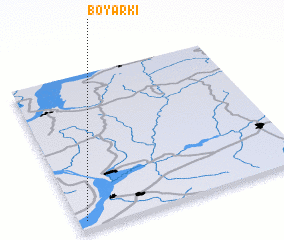 3d view of Boyarki