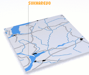 3d view of Sukharëvo
