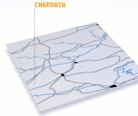 3d view of Chërnaya