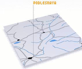 3d view of Podlesnaya