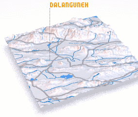 3d view of Dalangūneh