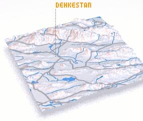 3d view of Dehkestān