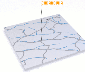 3d view of Zhdanovka