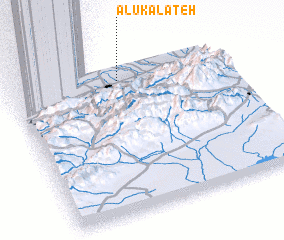 3d view of Ālūkalāteh