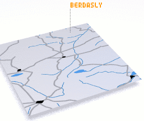 3d view of Berdasly