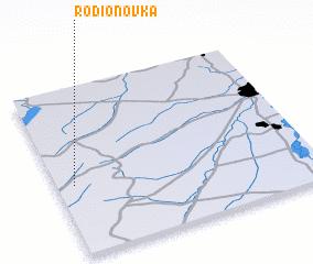 3d view of Rodionovka