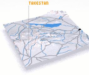 3d view of Tākestān