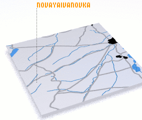 3d view of Novaya Ivanovka