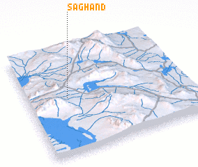 3d view of Sāghand
