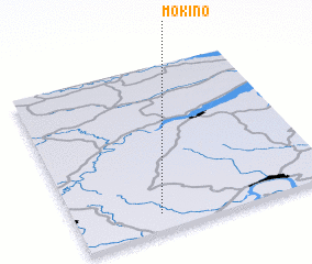 3d view of Mokino