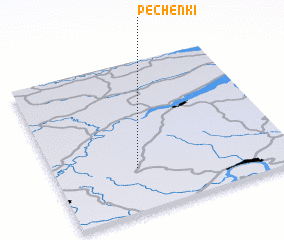 3d view of Pechënki