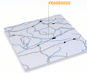 3d view of Fëdorovsk