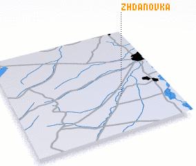3d view of Zhdanovka