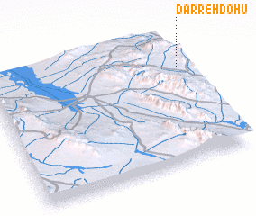 3d view of Darreh Dohū