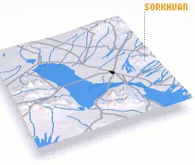 3d view of Sorkhvān