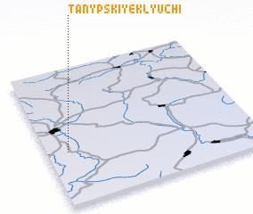 3d view of Tanypskiye Klyuchi