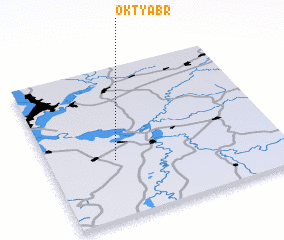 3d view of Oktyabr\