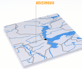 3d view of Anisimovo
