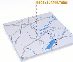 3d view of Bedeyeva Polyana