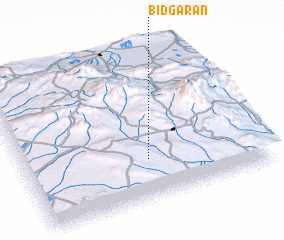 3d view of Bīdgarān