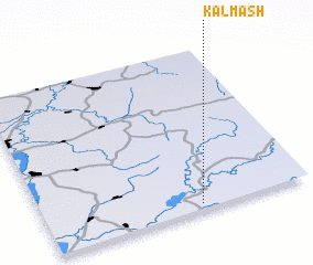 3d view of Kalmash