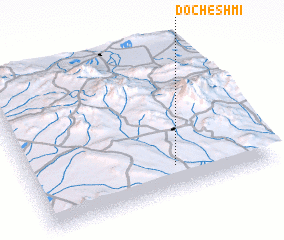 3d view of Docheshmī