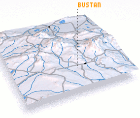 3d view of Būstān