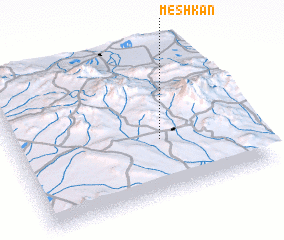 3d view of Meshkān
