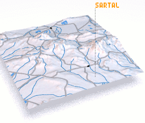 3d view of Sartal