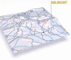 3d view of Kalmūsht