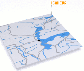 3d view of Isakeva