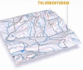 3d view of Tolombeh-ye Behī