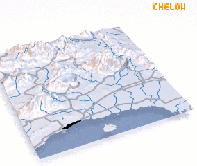 3d view of Chelow