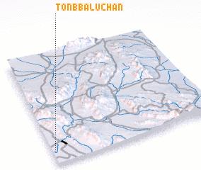 3d view of Tonb Balūchān
