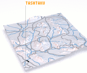 3d view of Ţashtakū
