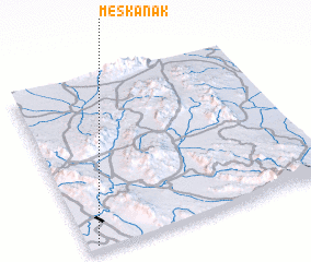 3d view of Meskanak