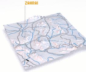 3d view of Zahrā\
