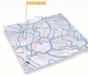 3d view of Roknābād