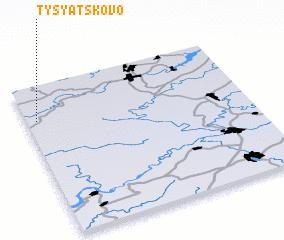 3d view of Tysyatskovo