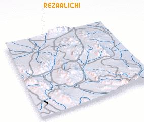 3d view of Reẕā 'Alīchī